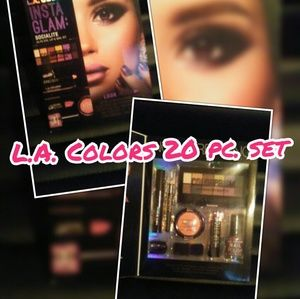 L.A. Color 20 pc. Make up set